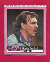 Everton Neville Southall Wales (M 89-90)